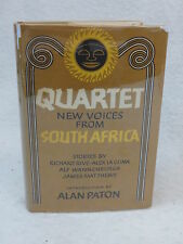 Richard Rive  QUARTET  NEW VOICES FROM SOUTH AFRICA  Crown Publisher 1963