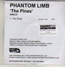 (CQ806) Phantom Limb, The Pines - 2011 DJ CD