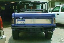 Early Ford Bronco Diamond Plate Center Tailgate Overlay