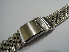 NEW 22MM JUBILEE BRACELET FITS SEIKO DIVER'S 7002,7S26,6309-729 SOLID STAINLESS
