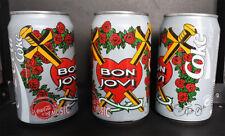 1x Bon Jovi Coca-Cola Can 1994 with Jons signature plate signed FANtastic
