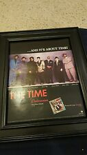 Morris Day And The Time Pandemonium Rare Original Promo Poster Ad Framed!