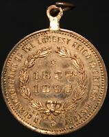 1837-97   Victoria 'The Longest Reign In British History' Medal   KM Coins