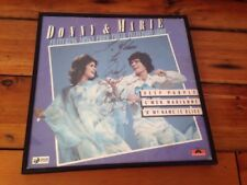 Donny & Marie Osmond Signed Autographed Deep Purple Album Polydor Record Framed