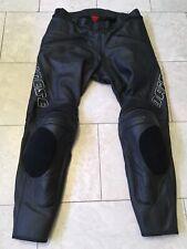 DAINESE Motorrad Gr.52 Lederhose Knieschleifer Lederjeans Motorradhose Pantalon