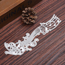 Music Note Metal Cutting Dies Stencil DIY Scrapbooking Embossing Card Craft
