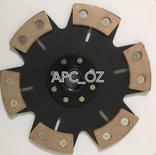 "APC TOYOTA 9""  3SGTE 1JZ-GTE W58 R154 Replacement 6 Pucks Solid Clutch Disc"