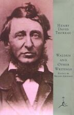 Modern Library of the World's Best Bks.: Walden and Other Writings by Henry...
