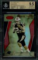 Christian Mccaffrey 2017 Certified Gold Mirror Gold #17 BGS 9.5 (9.5 9.5 9.5 9)