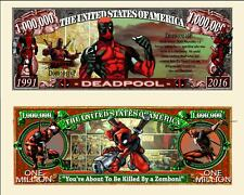 OUR DEADPOOL COMIC STRIP BILL (FREE HARD DURABLE PROTECTIVE SLEEVE)
