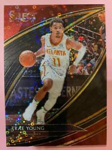 2019-20 Panini Select Courtside 1/1 BLACK Disco Prizm : Trae Young #One of One