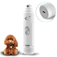 Electric Pet Nail Grinder Paws Grooming Trimmer Dog Cat Claws Toe Clipper Tool