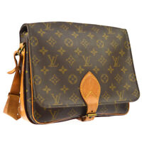 LOUIS VUITTON CARTOUCHIERE GM SHOULDER BAG MONOGRAM M51252 8902SL  A48809