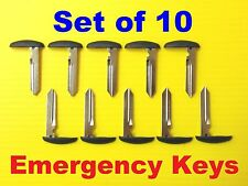 NEW Set Of 10 2012-2016 PEPS Remote Replacement Emergency Keys 5912345 164-R8041