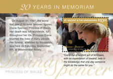 St. Vincent and the Grenadines 2017 Princess Diana 20 Years S/S-I70145