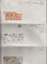 Bund Dauermarken auch Einheiten in drei Umschlägen stampsdealer