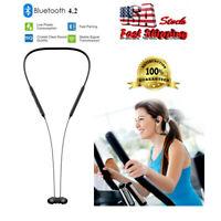 Wireless Headphones Sweatproof Bluetooth Sports Earbuds Earphone Stereo Headset