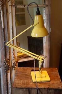 Anglepoise 1227 1930's Lamp by Herbert Terry Very Rare Yellow Original