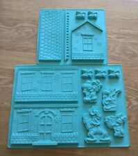 Eaglemoss Disney Cakes & Sweets Silicone Mould, Mickey Mouse House Molds, New