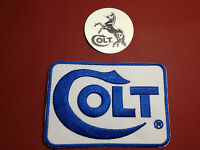 """Colt Firearms Manufacturer Embroidered 4"""" X 2.75"""" Patch + FREE COLT STICKER"""