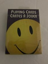 Smiley Face HappyCollectible Playing Cards. Sealed New Old Stock.