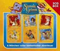 SIMSALAGRIMM - SIMSALAGRIMM 3-CD HÖRSPIELBOX VOL.2 3 CD NEU