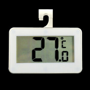1Pcs Digital Electronic Fridge Freezer Room LCD Thermometer with Hook Hanging