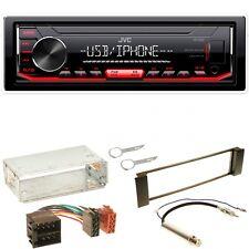 JVC KD-X252 Autoradio MP3 WMA AOA FLAC Einbauset für Seat Leon Toledo 1M