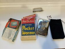 Vintage Used Dickson Pocket Hand Warmer Rare includes Box