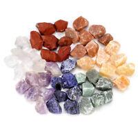 Natural 7pcs Chakra Gemstone Set Rough Raw Rock Stone Specimen Crystal Healing