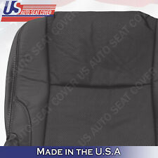 Fits 2011 Lexus IS250 IS350 Driver Side Bottom Seat Cover-Leather- Black