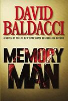 Memory Man, Hardcover by Baldacci, David, Like New Used, Free P&P in the UK