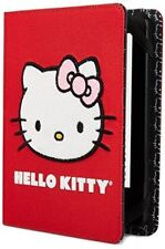 Hello Kitty Cover Fur Furry Face Red (Kindle Paperwhite, Kindle, & Kindle Touch)