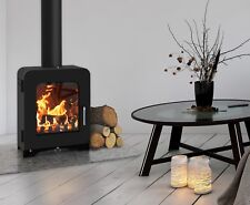 Saltfire ST2 5kW DEFRA Approved Wood Burning Stove Clean Burn High Efficiency