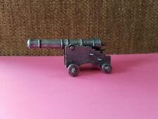 Miniature Pewter Collectible Cannon Cute