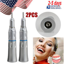 New listing 2Xdental Slow Low Speed Handpiece Straight Nose Cone Straight Contra Angle Oral