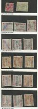 Germany Revenue Stamp, #B1//B69 Used, 1881-1907, DKZ