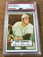 1952 TOPPS Gene Beardon #229 NM PSA 7