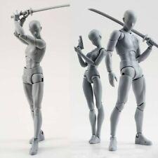 S.H.Figuarts He She Body KUN DX Set Ver Body CHAN Action PVC Figure Gray Color