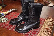 CORCORAN 1515 Size 8.5W Leather 10'' Mens Combat Jump Cap Boots Vintage