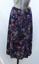 Marks and Spencer Women's Floral Viscose Calf Length Skirts