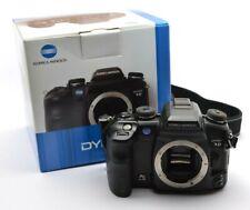 Konica Minolta Dynax 7D Digitalkamera Spiegelreflex Gehäuse Camera Body, OVP j43