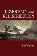 Democracy and Redistribution (Cambridge Studies in Comparative-ExLibrary