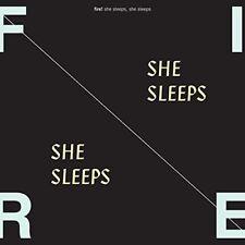 FIRE! - SHE SLEEPS,SHE SLEEPS  CD NEUF