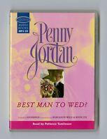 Best Man to Wed - by Penny Jordan - MP3CD - Audiobook