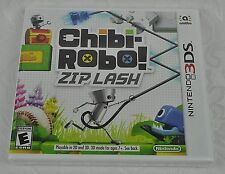 CHIBI-ROBO ZIP LASH NINTENDO 3DS SEALED BRAND NEW 2015 Video Game