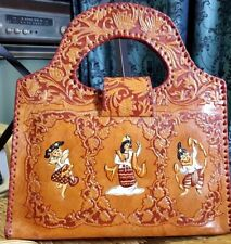 Bag, leather, pump, local culture, handmade Is a rare product that accumulates