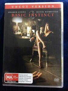 Basic Instinct 2 Uncut - Region 4 DVD - Great Condition - Sharon Stone FREE POST
