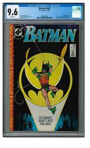 Batman #442 (1989) Key 1st Tim Drake As Robin CGC 9.6 LL037