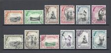 SWAZILAND 1956 SG 53/63 USED Cat £80